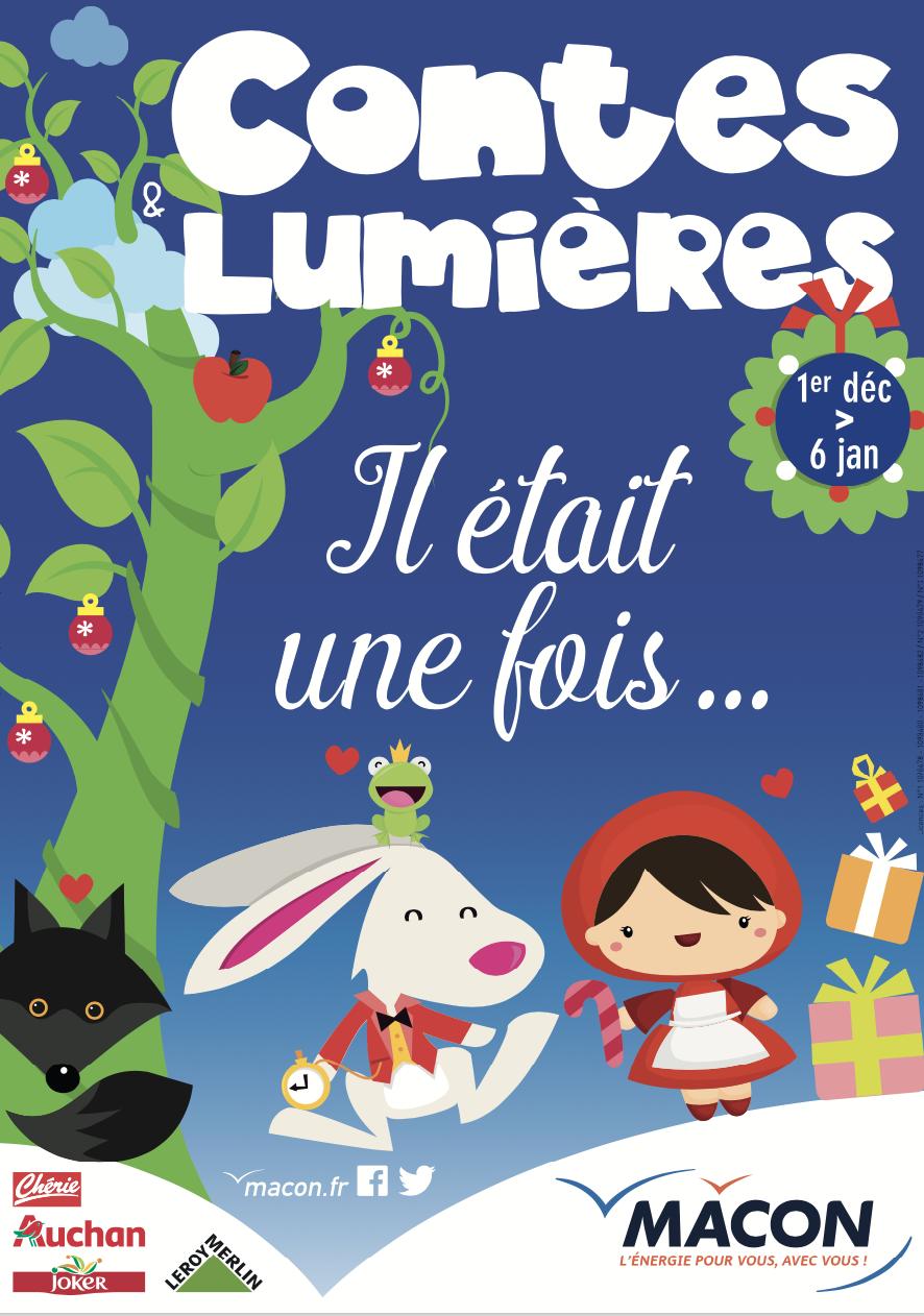 Contes et Lumières 2018 à Mâcon