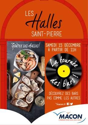 Halles Saint-Pierre : la tournée des bars