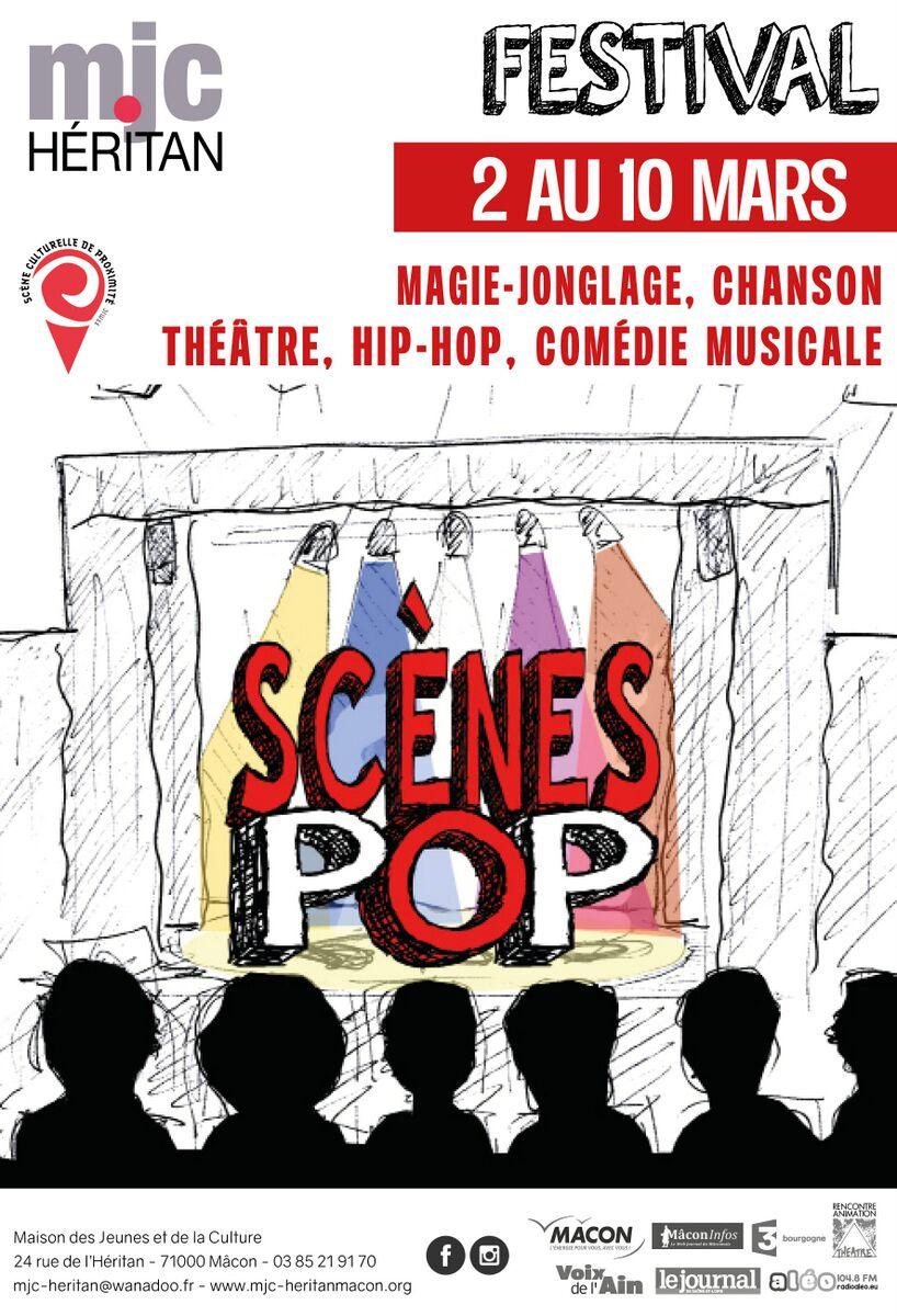 Scènes Pop du 2 au 10 mars 2019
