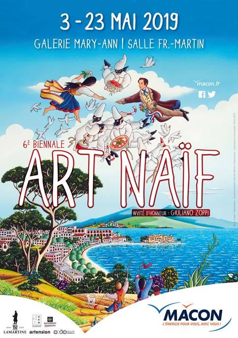 6ième Biennale d'art Naif de Mâcon