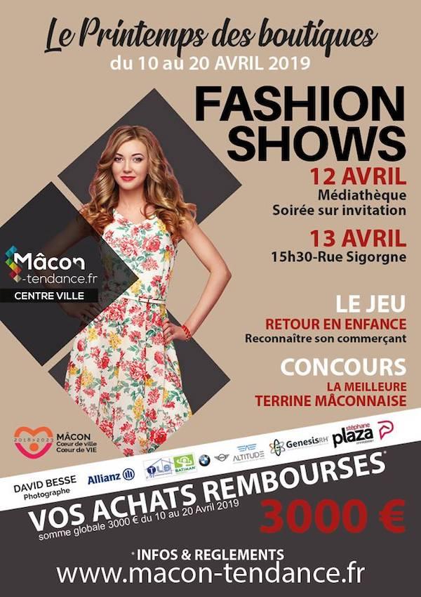 Printemps des boutiques 2019 : Fashion Show
