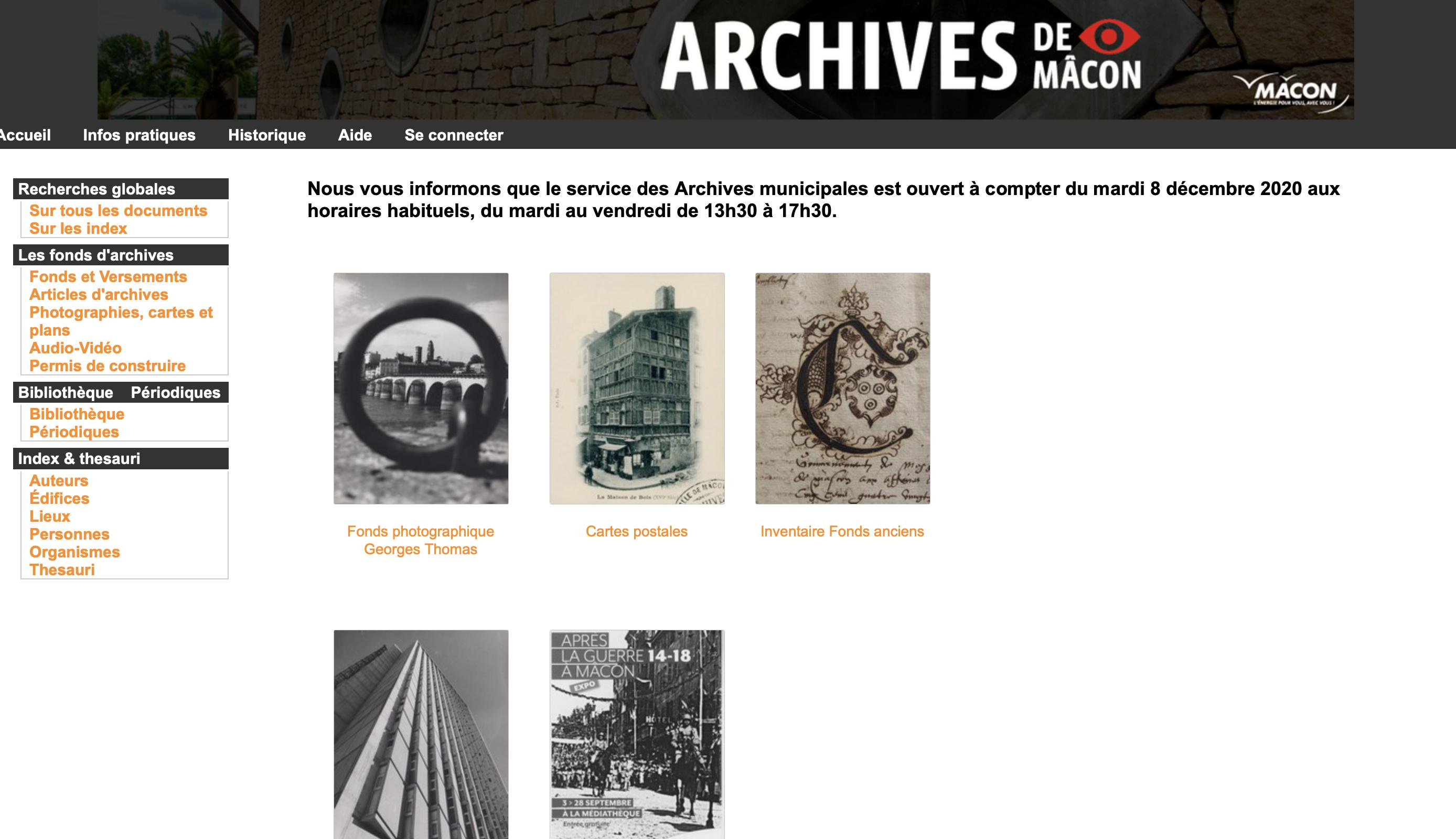 Archives municipales de Mâcon